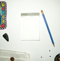 notepad front
